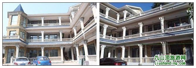 二层别墅实景图 欧式